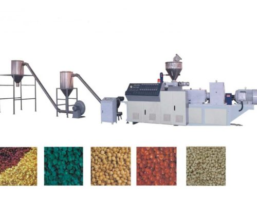 PVC/WPC Hot Cutting Pelletizing Line